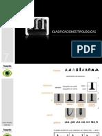 CLASIFICACIÓN TIPOLÓGICA tema 07 (Diseño de Comunicación)