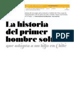 La Historia Del Primer Hombre Soltero Que Adopta a Un Hijo en Chile