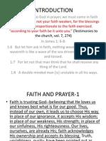 Faith and Prayer-1