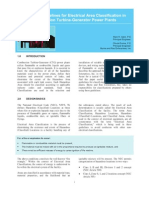 Practical Guidelines for Area Classification at a CTG Power Plant