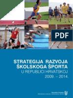 Strategija Razvoja Skolskog Sporta