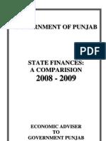 State Finances Com Paras Ion 2008-09