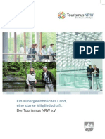 Mitgliederbroschüre Tourismus NRW e.V.