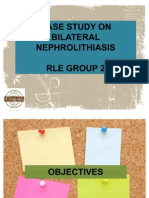 Case Study on Bilateral Nephrolithiasis