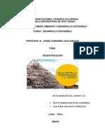 GRUPO 1A- DESERTIFICACIÓN Y Desarrollo Sostenible