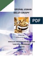Proposal Usaha Belut Krispy