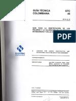 GTC 45 GUIA PARA EL DIAGNOSTICO DE CONDICIONES DE TRABAJO ACTUALIZACIÓN APROBADA
