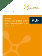 BrandMaker Focus Paper Web-To-Print Part I
