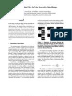 Spatial Median Filter
