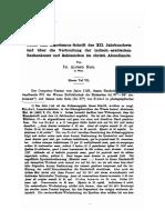 Alfred Nagl, Über eine Algorismus-Schrift des XII. Jahrhunderts (1889)