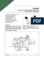 TDA2052 datasheet