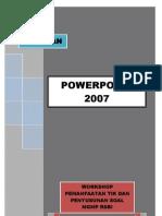 Panduan Power Point 2007