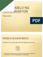 Mga Modelo Ng Komunikasyon