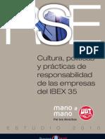 Estudio RSE 2010 IBEX35