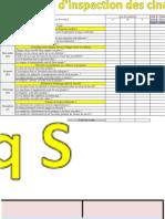 la feuille de contrôle des 5S (Enregistré automatiquement)