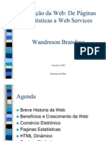 Training Presentations Web Services