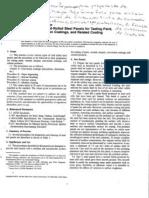 ASTM D609-00 PREPARAÇÃO CHAPA DE AÇÕ PARA ENSAIO DE CAMADA DE TINTA