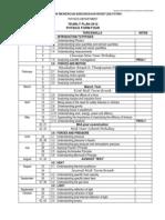 Form 4 Summary Year Plan