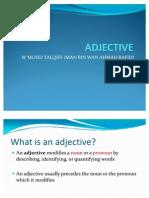 PKU3105 Adjectives