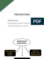 PKU3105 Preposition