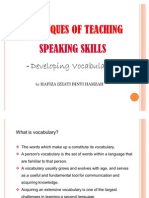 PKU3105 Techniques of Teaching Speaking Skills