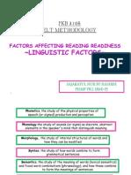 PKU3105 Linguistic Factors