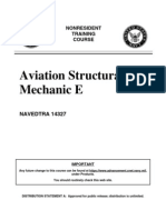 US Navy Course NAVEDTRA 14327 - Aviation Structural Mechanic E
