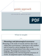 PKU3105 Linguistic Approach