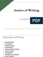 PKU3105 Mechanics of Writing