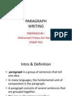 PKU3105 Paragraph