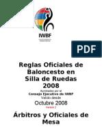 Arbitros y Oficiales de Mesa Obligaciones y Derechos