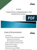 Wimax Presentation