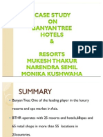 Case on Banyan Tree Hotels and Resorts