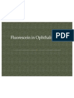 Fluoresce In in Ophthalmology Ppt