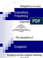 10. Expository Preaching Exegesis & Exposition 1 Peter 2 1-3 30frs