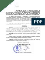 Lista provisional de admitidos y excluidos - CAP Castilla y León