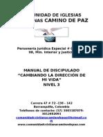 Manual de Discipulado Nivel 3