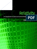 Relativity an Introduction to Special and General Relativity