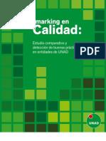 Benchmarking en Calidad. Estudio comparativo y detección de buenas prácticas en entidades de UNAD
