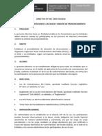 Directiva 004-2009-OSCE