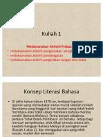 KULIAH 1-Aktiviti Pra Bacaan