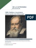 Historia de La Astronimia