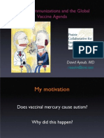 Mercury, Immunizations and the Global Vaccine Agenda