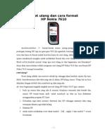 Reset Ulang Dan Cara Format HP_Nokia 7610