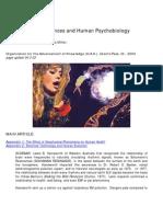 Richard Alan Miller and Iona Miller- Schumann's Resonances and Human Psychobiology (extended version)