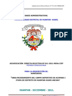 Bases Adquisicion de Agregados 2011