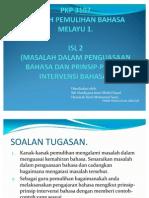 Prinsip-prinsip Intervensi Bahasa