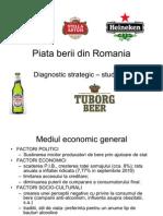 Studiu de Caz Industria Berii Din Romania