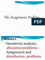 Assignment Model Mba 2012