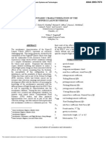 Aerodynamic Characterization of the Hyper-X Launc .. PV2003_7074